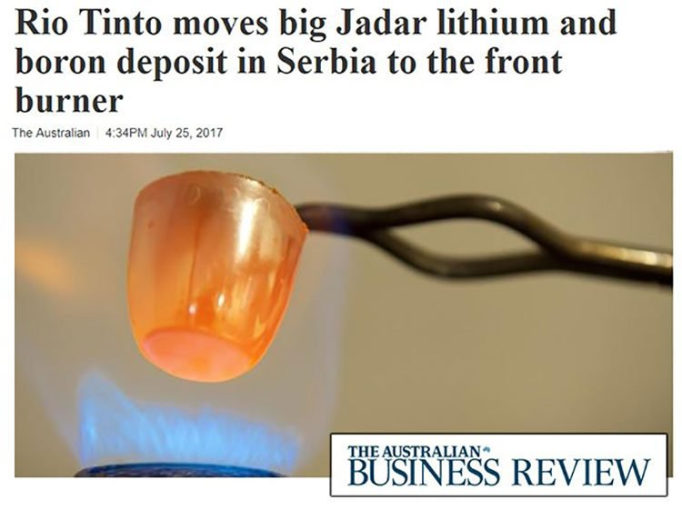 Rio tinto lithium