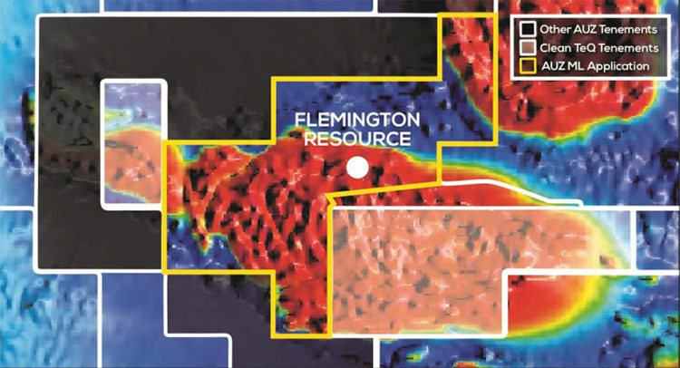 Flemington tenement region map