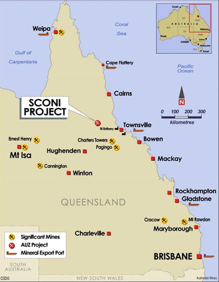 Sconi Project Queensland