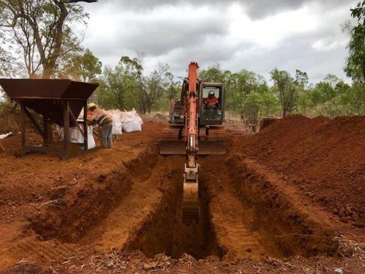 Australian mines trial mining