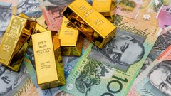 Gold and Aussie Dollars