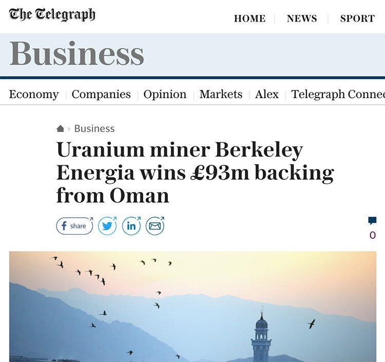 BKY uranium backing