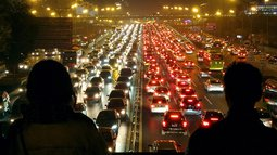 Traffic Congestion Index For Beijing Reaches 9.5 After APEC