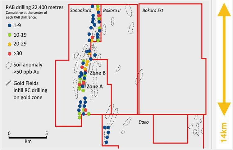 cora resource drilling