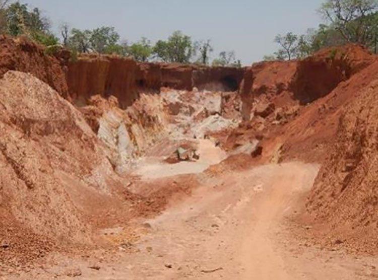 Sanankoro mineralisation