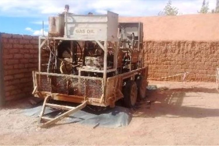 lake resources drill rig