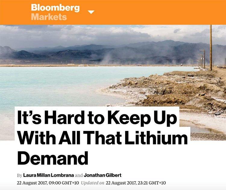 bloomberg lithium