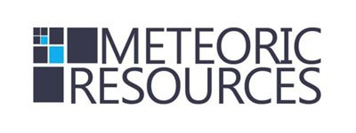 meteoric resources new logo