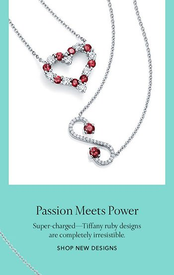 Tiffany jewellers ruby gemstone