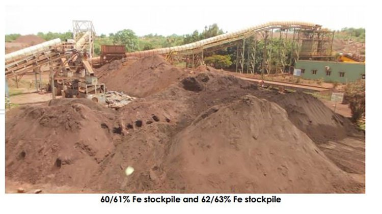 NSL consolidated iron ore