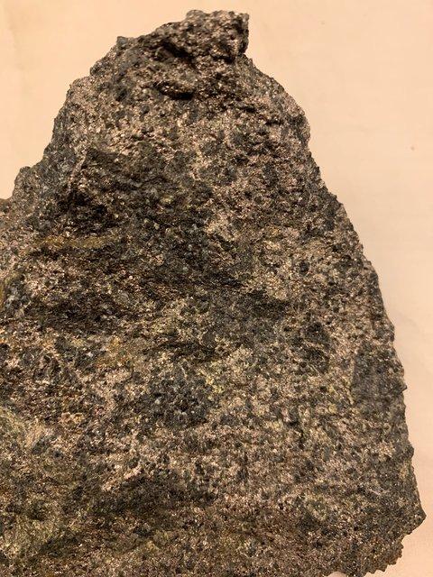 Nickel Copper Mineralisation from Veslegruva Historical Mine