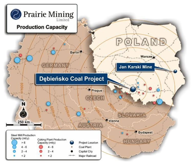 Debiensko coal project