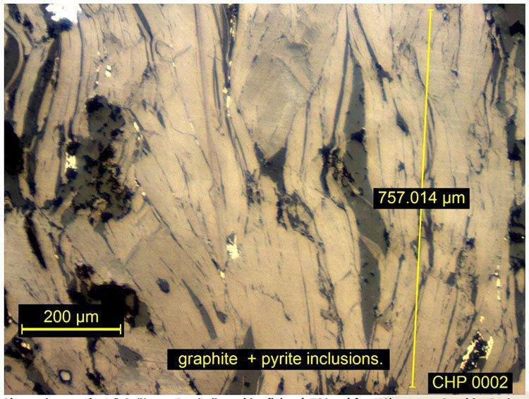 Peninsula mines graphite