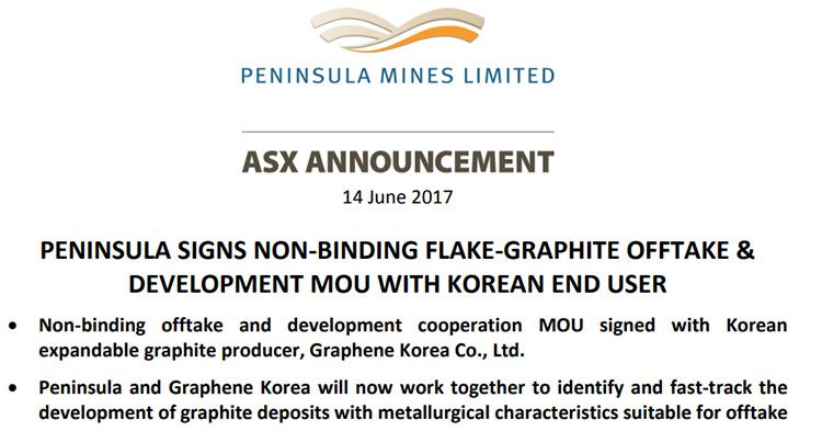 Graphene Korea deal