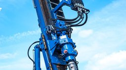 Big drilling machine