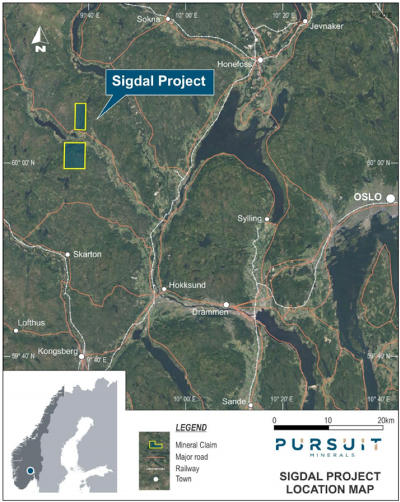 Sigdal Project Location