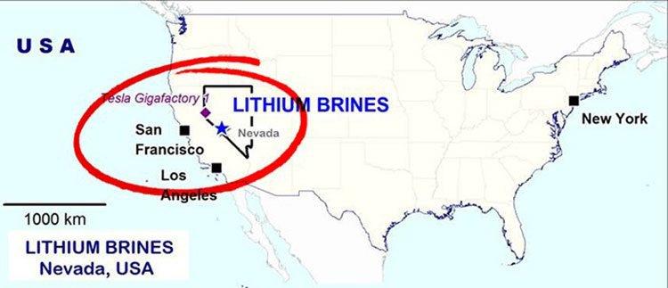 RLC lithium brines