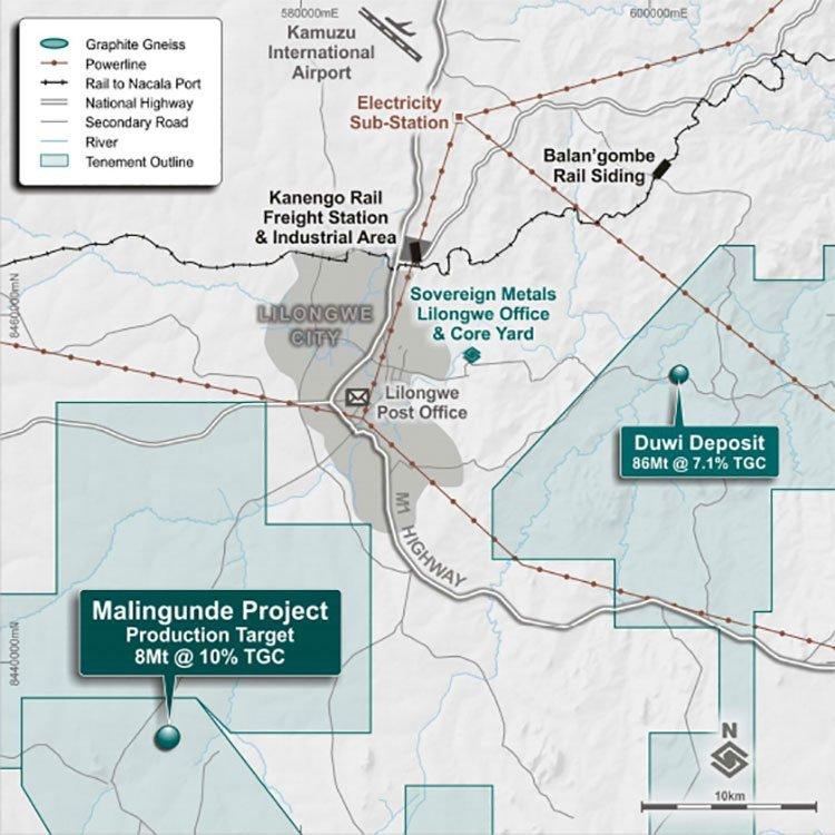 Malingunde area map