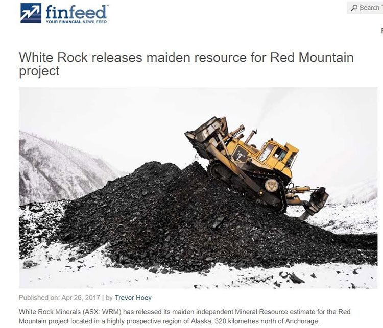 White rock minerals finfeed