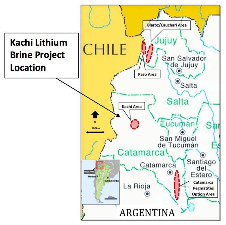 Kachi Lithium Project