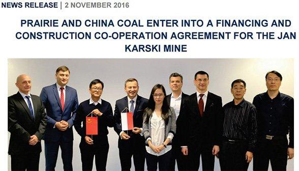 Key scoping study identified Debiensko as prime area for hard coking coal
