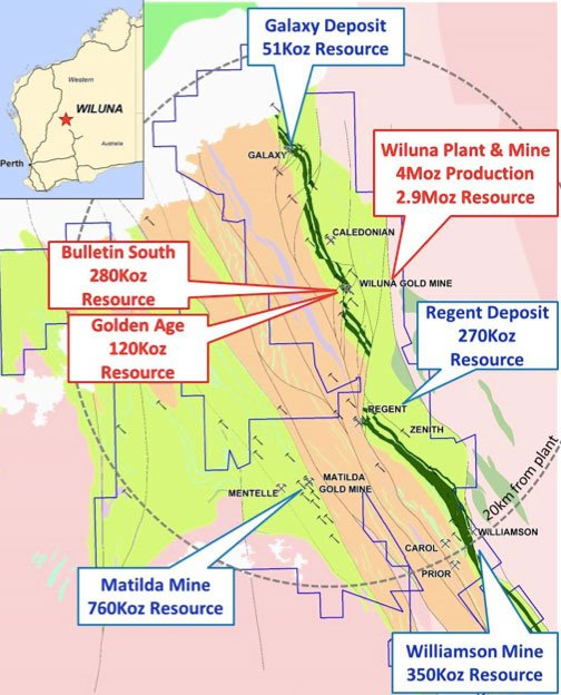 Blackham Resources (ASX:BLK) gold resources in Western Australia