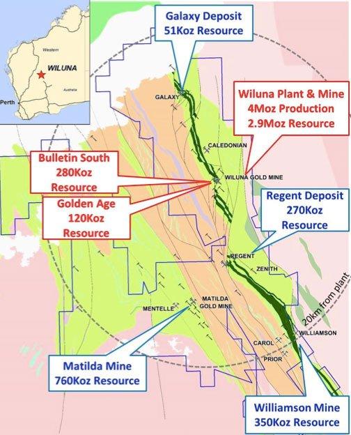 Blackham Resources (ASX:BLK) gold resources in Western Australia